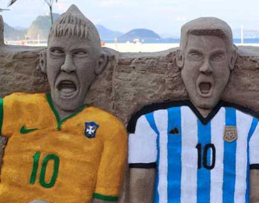 Argentina, Tetangga yang Siap Mengotori Kesucian Maracana Jilid Dua