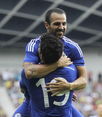Kunci Taktik Baru Mourinho Itu Bernama Cesc Fabregas