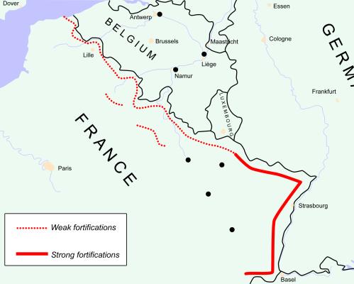 Cara Nazi Jerman Hancurkan Pertahanan Garis Maginot Perancis