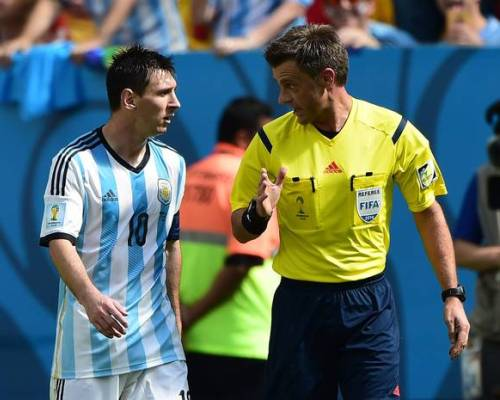 Rizzoli dan Pengalamannya Menjadi Wasit Final Piala Dunia