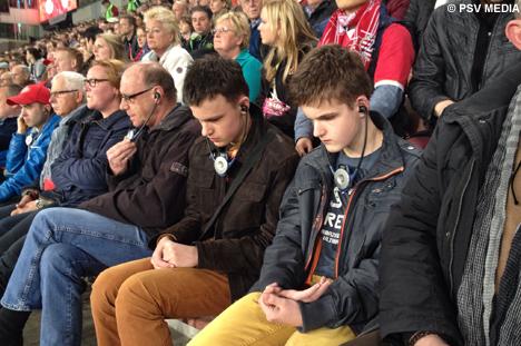 PSV Eindhoven Membuat Tunanetra Bisa Menonton Sepakbola