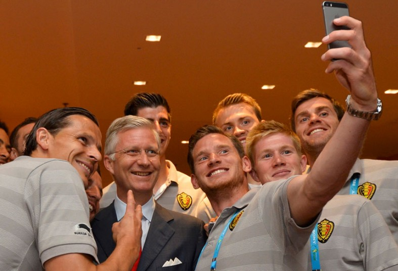 belgia selfie