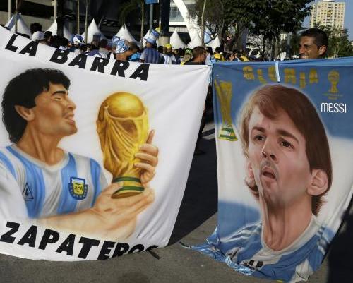 Lawan Belgia, Messi Berpeluang Samai Maradona
