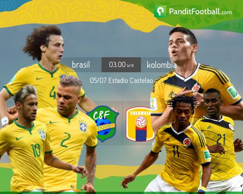 Preview: Brasil vs Kolombia