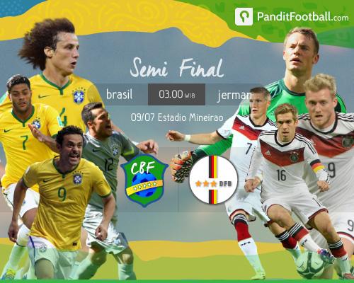 Preview: Brasil vs Jerman