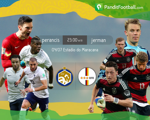 Preview: Prancis vs Jerman
