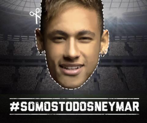 Topeng Untuk Neymar