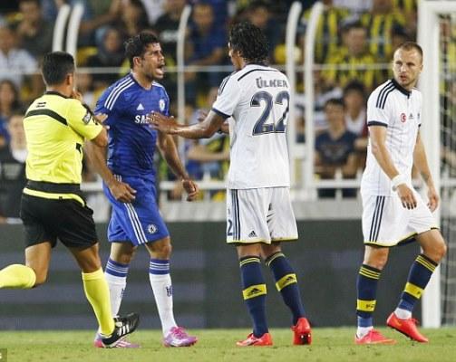 Tekel Keras yang Hampir Hentikan Karier Diego Costa