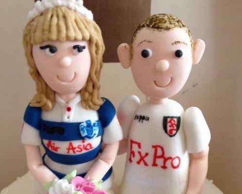 Kado Romantis dan Lucu Dari Fulham untuk Fansnya yang Menikah