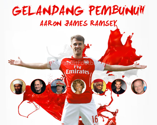 Robin Williams, Korban Kutukan Gol Aaron Ramsey?